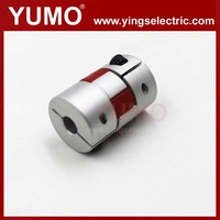 YUMO 20mm 30mm 6mm four segments of polyrethane Servo motor Encoder Aluminum alloy coupling camlock universal coupling