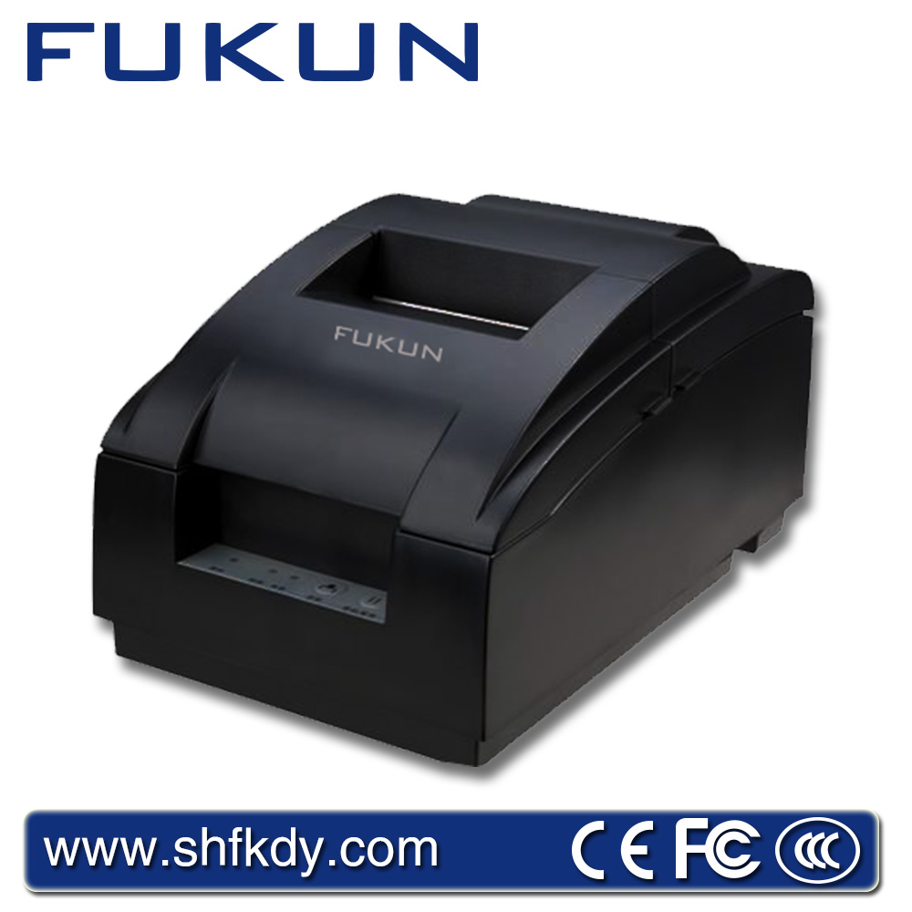 Advanced FUKUN FK-POS7645A cheque cheap receipt barcode printer by security payment of alibaba