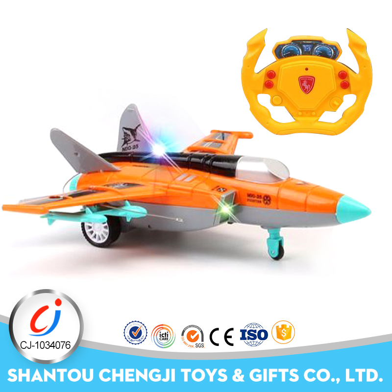 Wholesale plastic rc rc model jet engines for kids with light and music