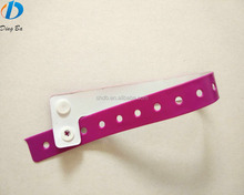 High Quality ID Vinyl PVC Bracelet Vinyl Wristbands