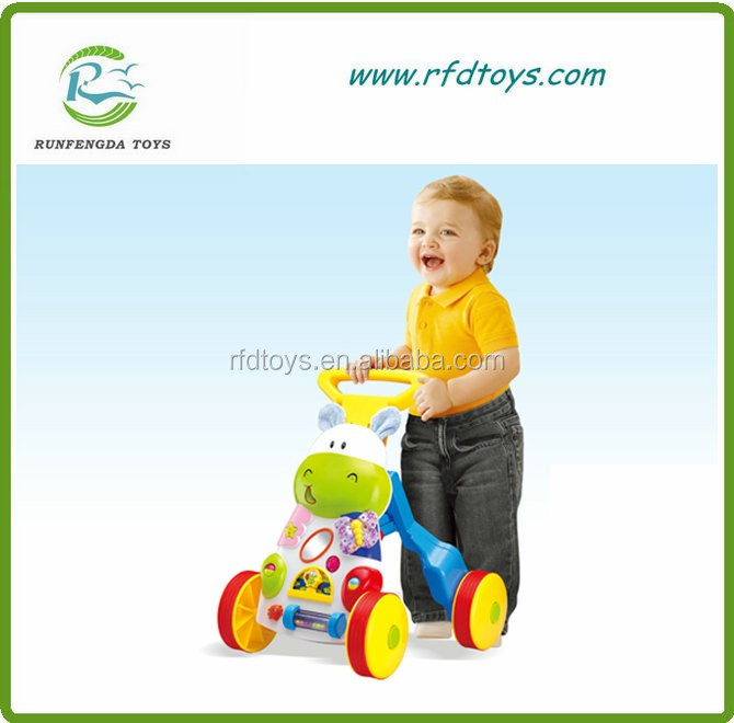 Baby product baby activity walkers car style with music baby walker