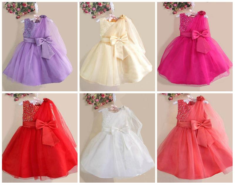 baby girls party wear dress children frocks designs 2015
