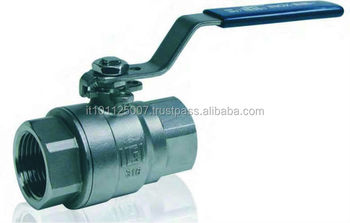 Steel stainless ball valves