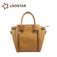 Woman Leather Handbag with High Quality Factory in China Lady Hand Bag Leather Wholesale