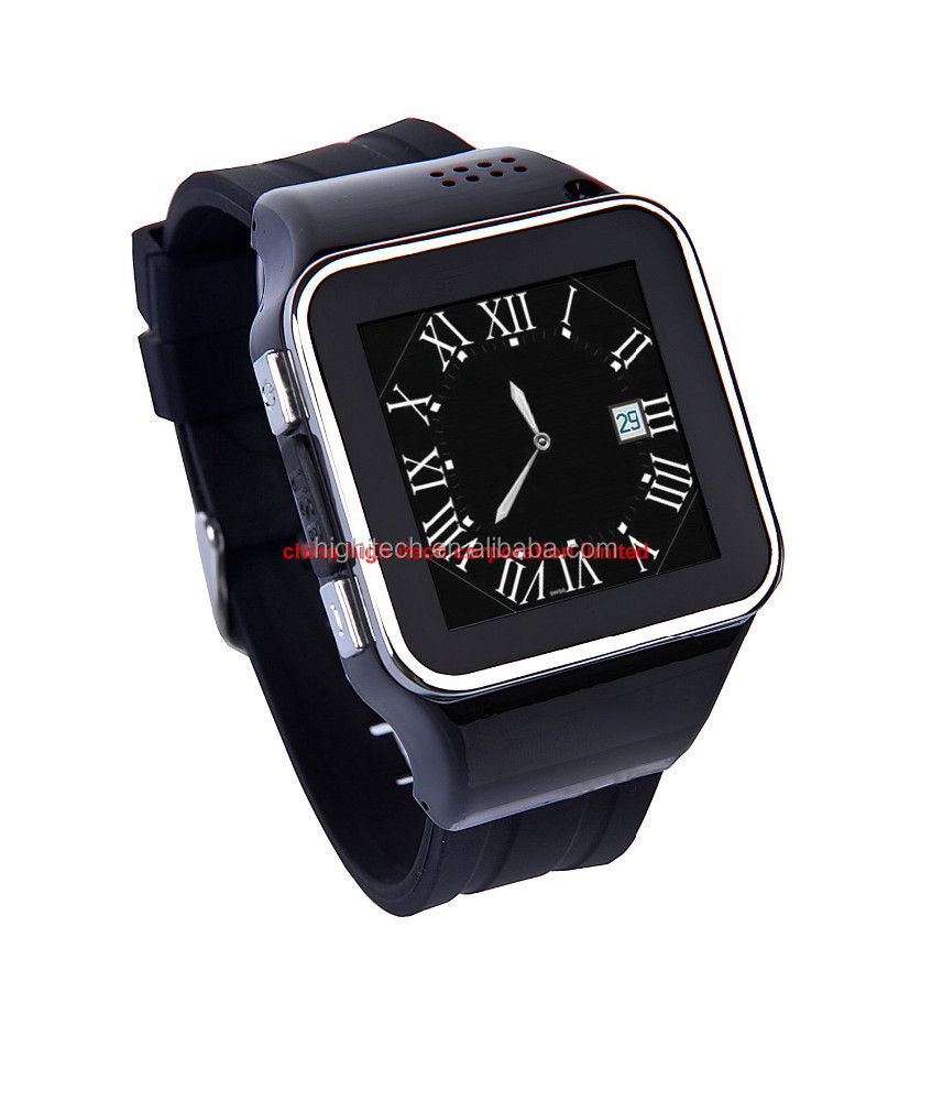 Smart Watch Mobile phone Waterproof for iPhone Andrid Samsung Galaxy Note Capacitive Screen