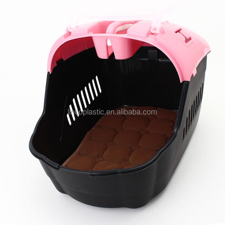 Hot sales pet products plastic pet carrier size 47X33X32h CM