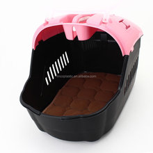 Hot sales plastic pet carrier size 47X33X32h CM