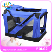 Folding dog carrier bag / cheap dog carrier bags/ Collapsible pet carrier