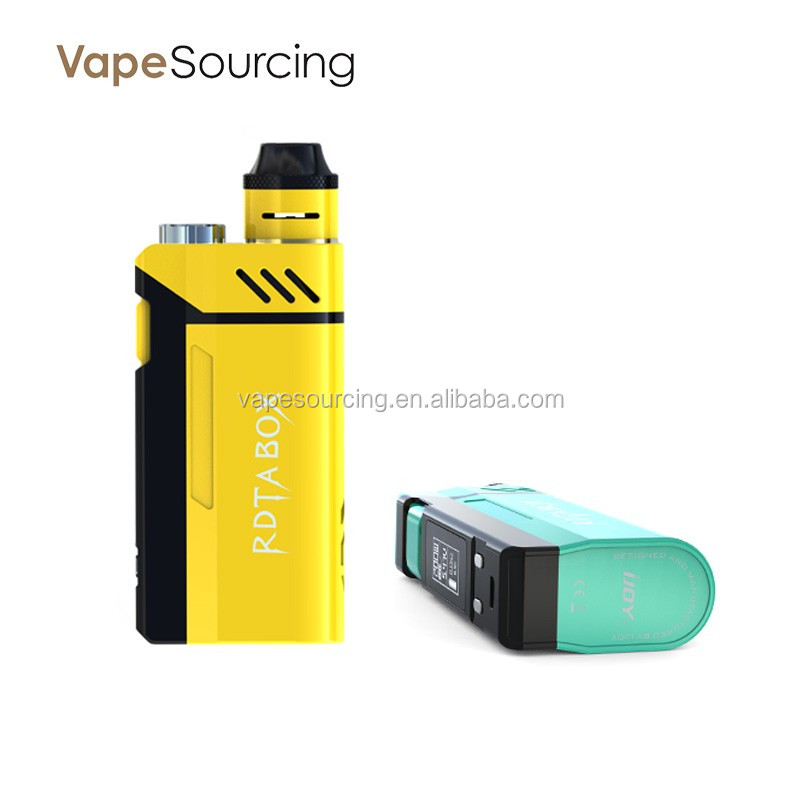 100% Authentic IJOY RDTA BOX 200W Starter Kit 200W Box Mod e cigarette