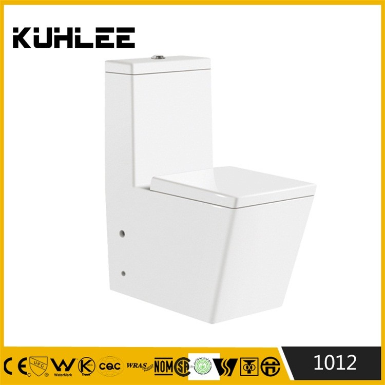 KL-1012 Back to wall sanitary ware one piece ceramic toilet prices