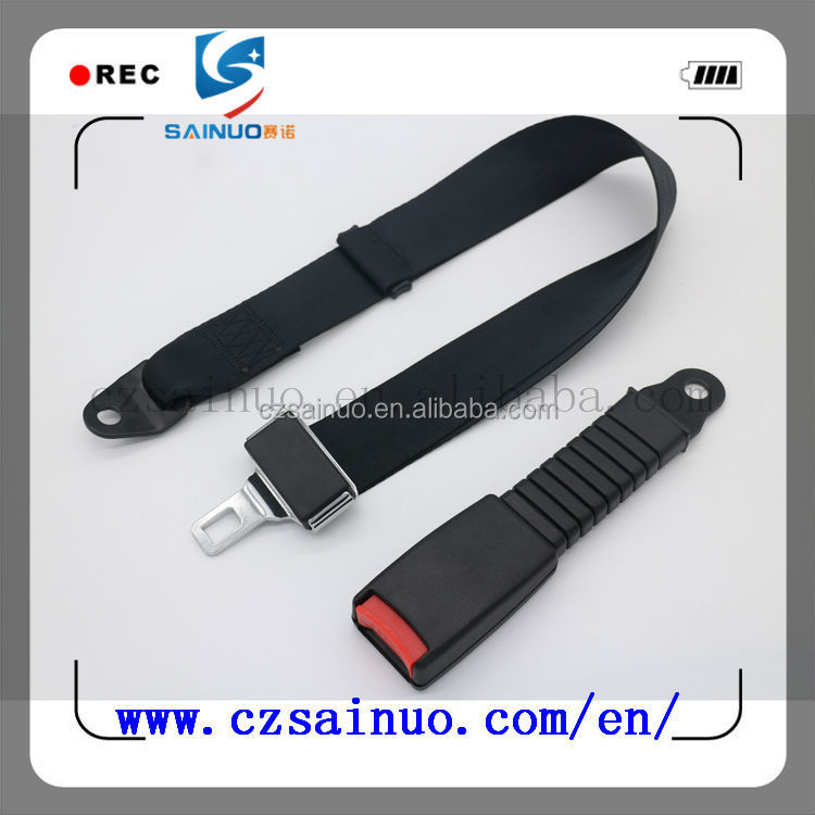 good quality for car safety seat belt 2 Points Point Type buckle for seat