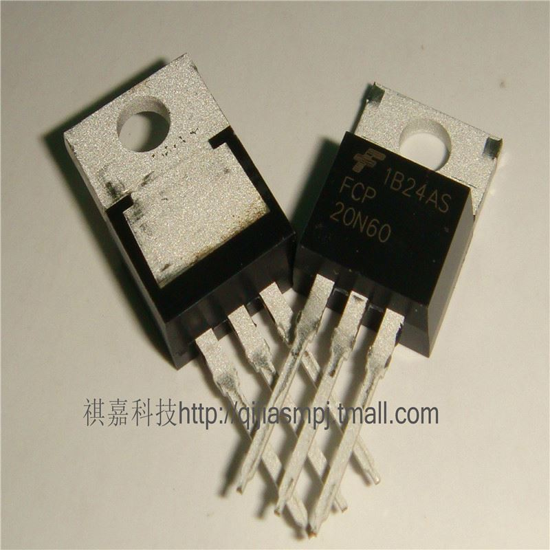 100% new original FCP20N60 20N60 20A / 600V MOSFET TO-220--WJSM3