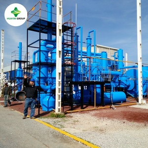 Hot selling in Mexico Used Waste Tyre Tire Rubber To Oil Pyrolysis Recycling Plant Machine
