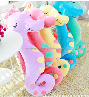 2018 new product plush cute hippocampus sound of music toys baby sleeping light toys Educational toys