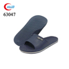 wholesale navy blue flat men's plastic clog slippers