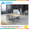 Modern executive desk office table design hollow-core L shape home office deskJK-03