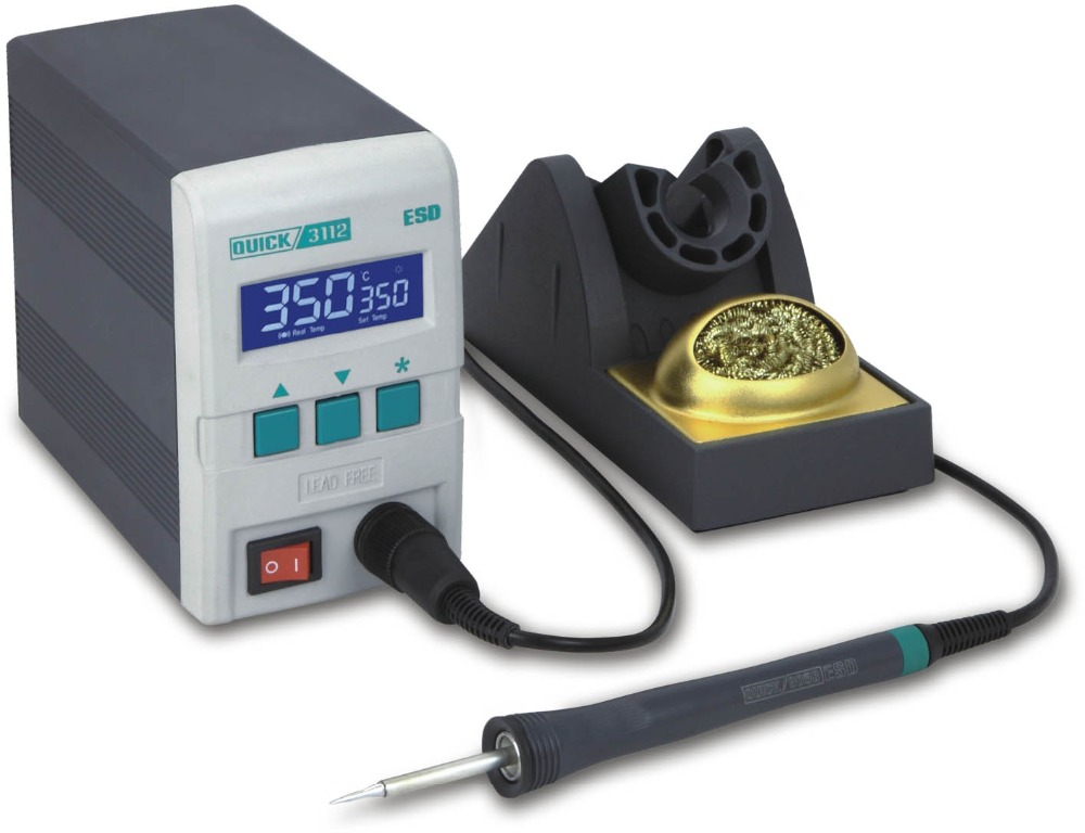 Quick 3112 lead free portable soldering station buy for Free portable