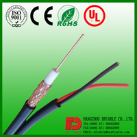 RG6 Shield Coaxial Cable With power Cable