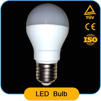 cheap type A55 4w led bulb,pbt+pc,led lighting bulb,320-360lm/w,CRI>80,with ROHS