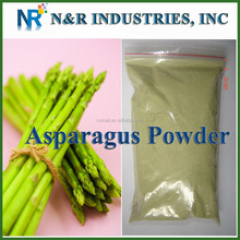 Pure Fresh and Green Asparagus Powder or Asparagus Juice Powder