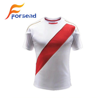 2018 New Design Custom Made Peru Egypt National Football Thailand Quality Sports Shirt Soccer Jersey