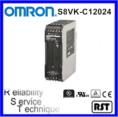 S8VK-C12024 Switch Mode Japan Omron 120W 24V 5A Single Phase Power Supply