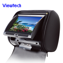 Guangzhou 9'' car touch screen headrest dvd with wireless game manufacturer
