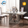 China Manufacturer Modern Marble Dinning Table