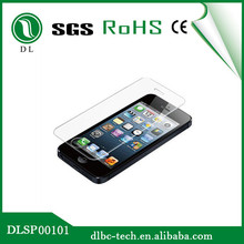 Super Olephobic coating anti-oil tempered glass protector for iphone 4 4s