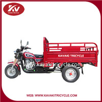 2015 new design KAVAKI brand 150cc air cooling three wheel cargo tricycle with ccc hot sale in Africa