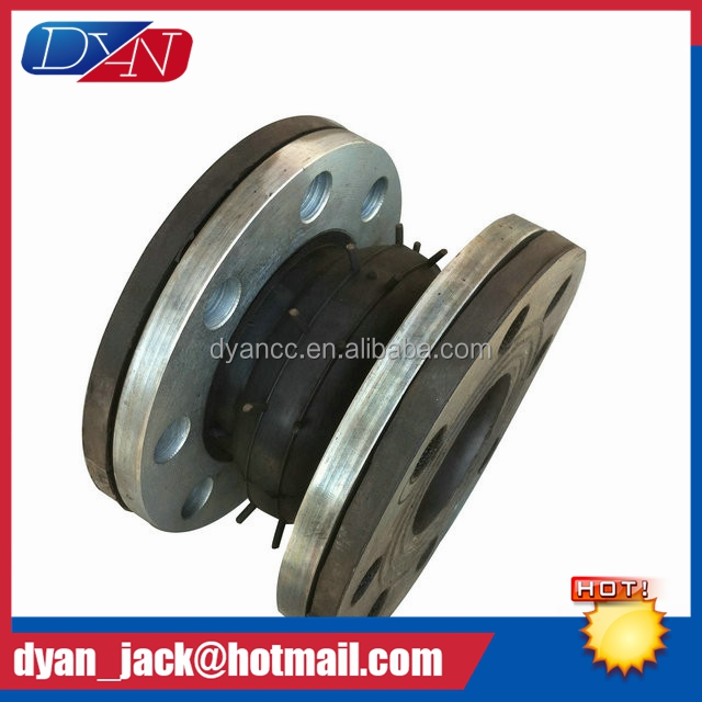 casting flange Single Sphere union type rubber joint for fire main