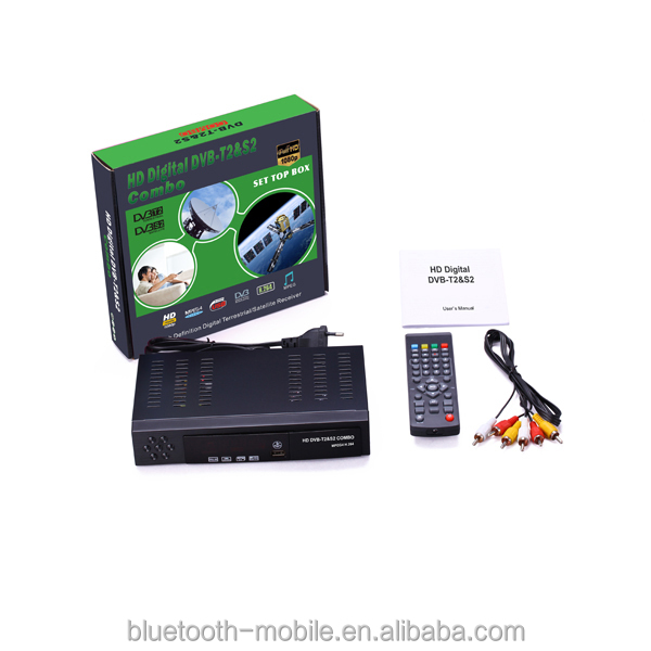 2014 hotsale2013 new satellite receiver dvb s2 dvb t2 combo