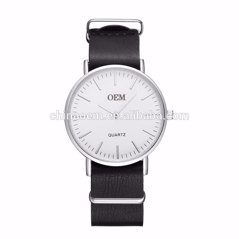 2017 Hot Sales Men's Watch Business Clock Quartz Fashion Watch