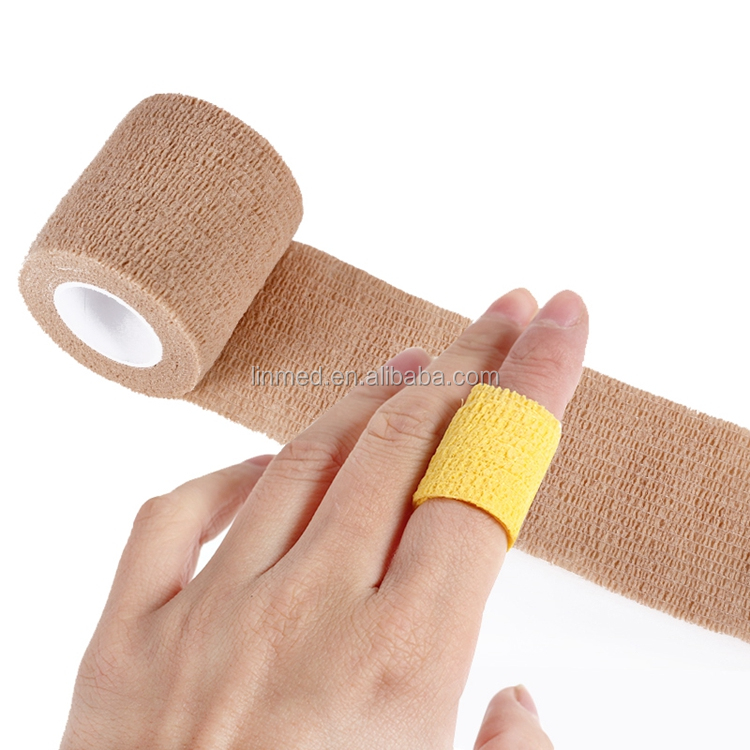High Quality Medical Elastic Cohesive Bandage Sportwrap