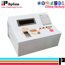 Good quality coin operated electric ticket counting lottery machine made in China