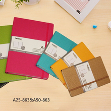 China factory price PU leather hardcover business notebook cover