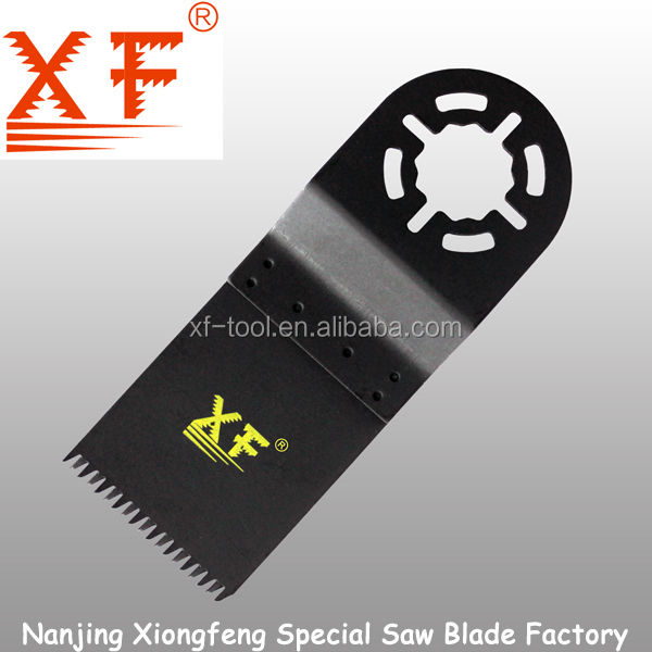 Bi-metal and HCS Blade Material and Black Finishing Fein Multimaster Oscillating Multi Tool Saw Blades