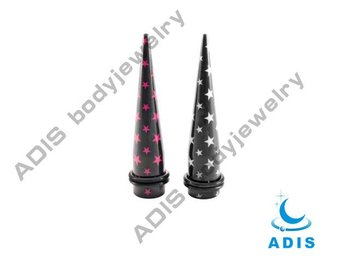 acrylic star-wrap-expanders,ear tapers piercing