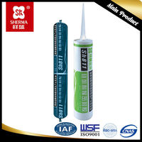 Aluminum,marble,granite walls sealed seams high temp silicone sealant