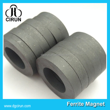 Wholesale big large ring shape ferrite speaker magnet for subwoofer