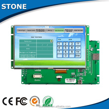 7 inch cpu controlled TFT lcd module with 5-42 wide voltage