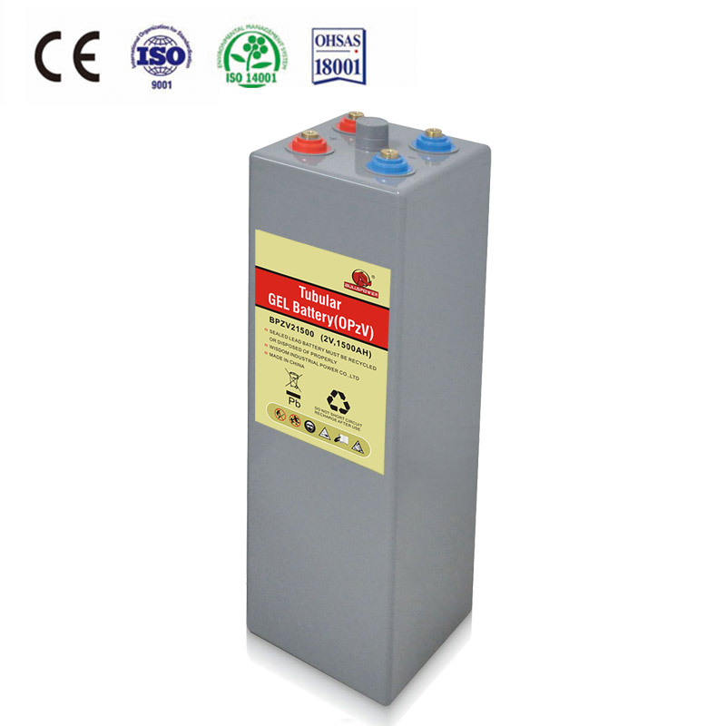 12V 2000AH OPZV tubular gel solar <strong>battery</strong> for Solar energy system 5kw