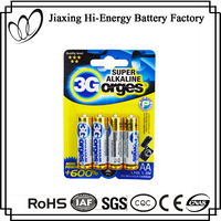 Alkaline Dry Battery Aluminum Foil AA Alkaline 1.5V AM3 LR6 Battery