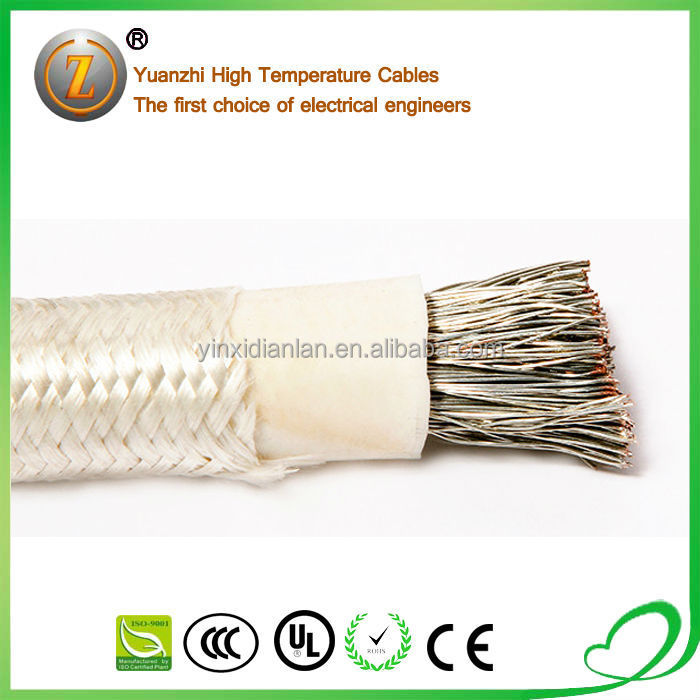 ul 3122 10 gauge strand wire silicone high temperature wire with glass fiber cover