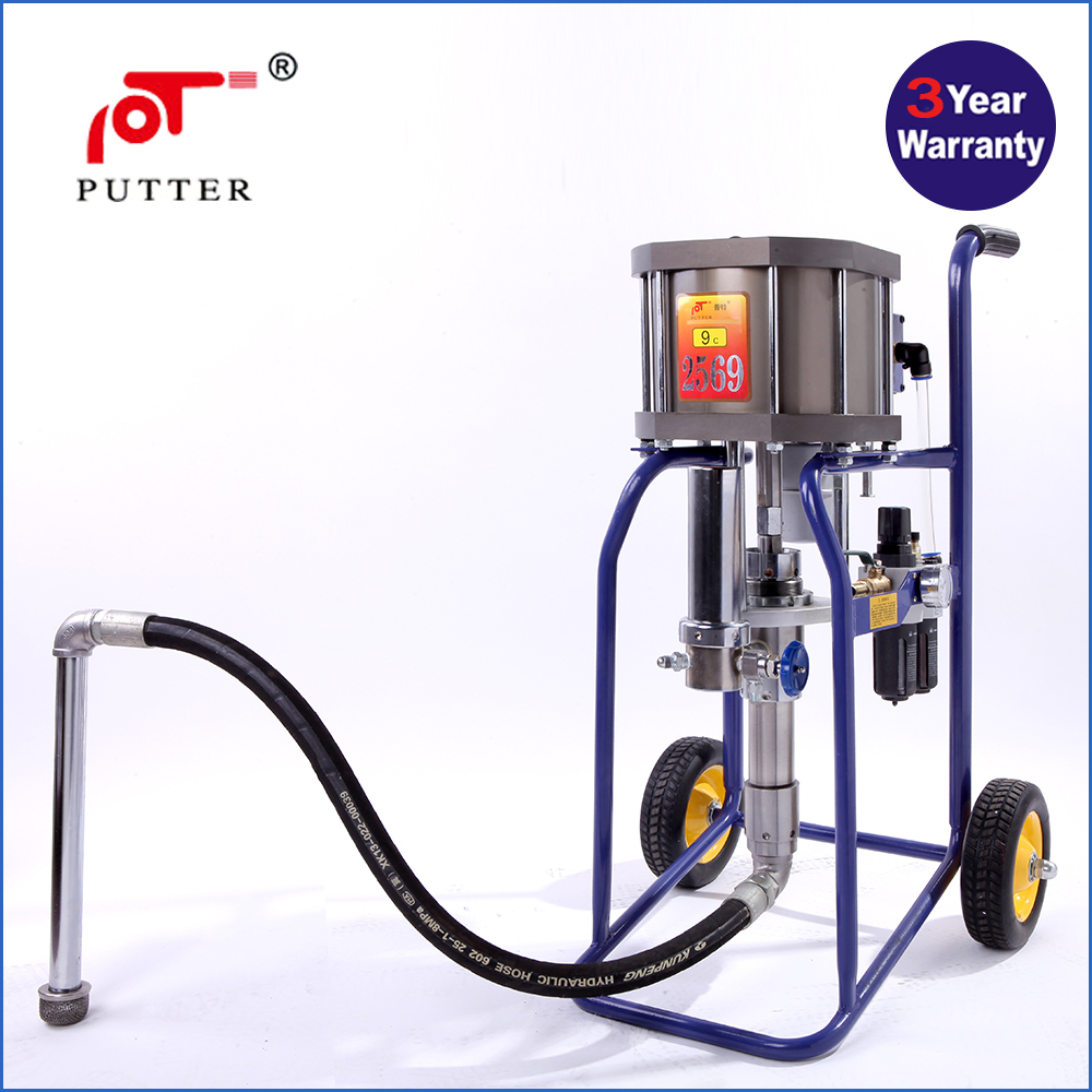 2015 hot selling pneumatic powered airless paint sprayer for Air or airless paint sprayer