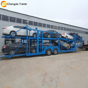 China supplier carry 8 cars car carrier trailers for sale