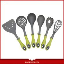 yangjiang 5pcs silicone kitchen utensils set for cooking tools