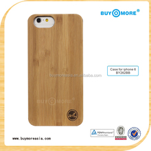for iphone6 blank wood battery cover case bamboo cover case for iphone 6