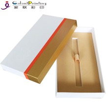 Custom gold foil slide box custom vape cartridge packaging for 1ml vape pen cartridge