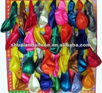 beautiful color latex balloons round shape for decoration party balloon